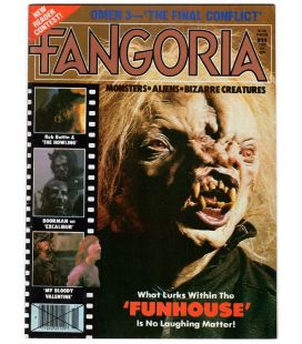 Fangoria Magazine # 27 Tom Savini Evil Dead The Timewalker