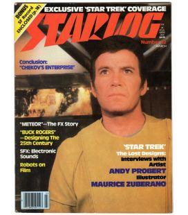 Starlog Magazine N°32 - Vintage march 1980 issue with William Shatner