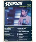 Starlog N°32 - Mars 1980 - Ancien magazine américain avec William Shatner