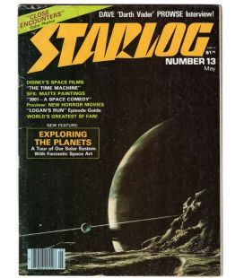 Starlog Magazine N°13 - Vintage may 1978 issue