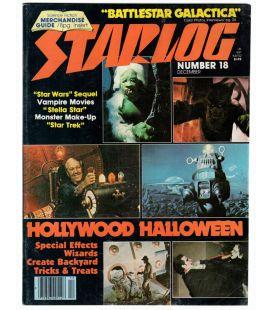 Starlog N°18 - Décembre 1978 - Ancien magazine américain avec Planète interdite