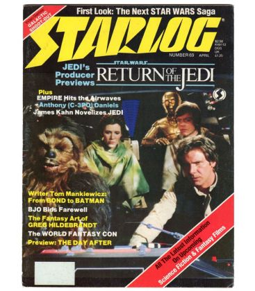 Starlog Magazine N°69 - Vintage april 1983 issue with Star Wars