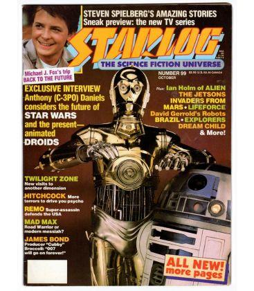 Starlog N°99 - Octobre 1985 - Ancien magazine américain avec Star Wars