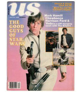 US Magazine - 22 juillet 1980 - Ancien magazine américain avec Mark Hamill