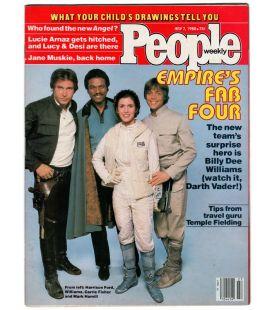 People Weekly Magazine - Vintage july 7, 1980 issue with Star Wars