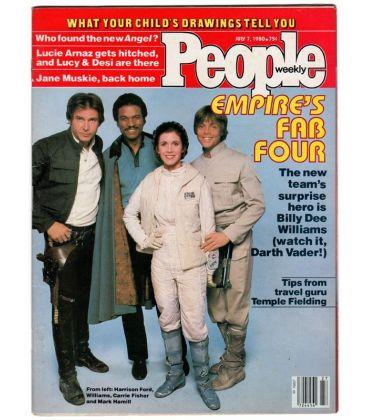 People Weekly - 7 juillet 1980 - Ancien magazine américain avec Star Wars