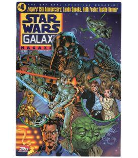 Star Wars Galaxy N°4 - Eté 1995 - Magazine américain avec Darth Vader