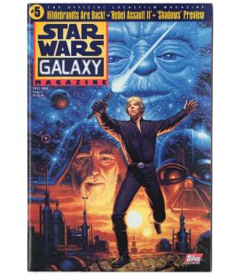 Star Wars Galaxy Magazine N°5 - Fall 1995 issue with Luke Skywalker