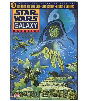 Star Wars Galaxy N°8 - Été 1996 - Magazine américain avec Star Wars