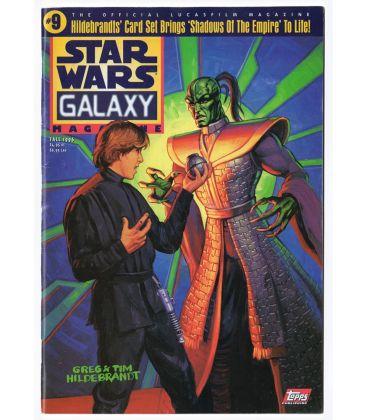 Star Wars Galaxy N°9 - Automne 1996 - Magazine américain avec Star Wars