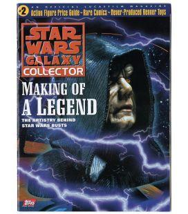 Star Wars Galaxy Collector N°2 - Mai 1998 - Magazine américain avec Palpatine
