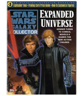 Star Wars Galaxy Collector Magazine N°3 - August 1998 issue with Luke Skywalker