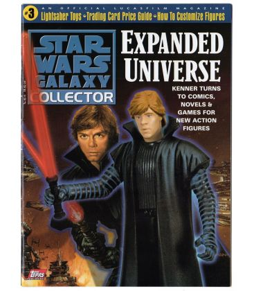 Star Wars Galaxy Collector Magazine N°3 - August 1998 issue with Luke Skywalker