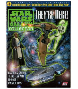 Star Wars Galaxy Collector Magazine N°4 - November 1998 issue