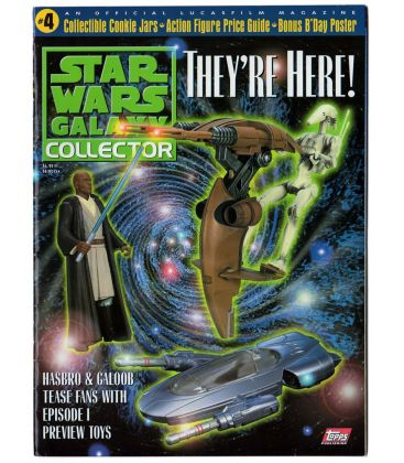 Star Wars Galaxy Collector N°4 - Novembre 1998 - Magazine américain