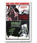 "Daughters of Satan / Superbeast - 27"" x 40"" - Ancienne affiche originale américaine"