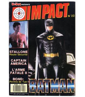 Impact N°22 - Août 1989 - Magazine français avec Batman