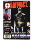 Impact Magazine N°22 - August 1989 issue with Batman