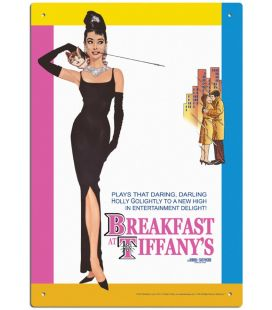 "Breakfast at Tiffany's - 8"" x 12"" Metal Sign"