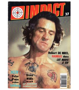 Impact Magazine N°37 - February 1992 issue with Robert de Niro