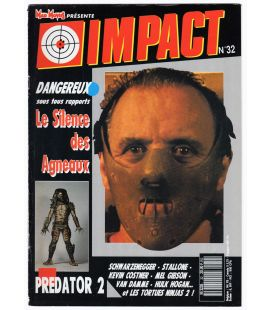 Impact Magazine N°32 - April 1991 issue with Anthony Hokins