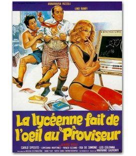 """La Lycéenne fait de l'oeil au proviseur - 47"""" x 63"""""""