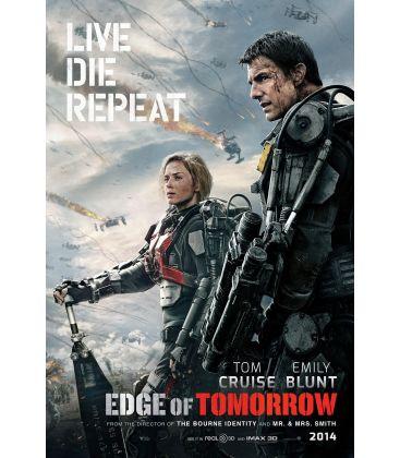 "Edge of Tomorrow - 27"" x 40"" - Original Advance US Poster"
