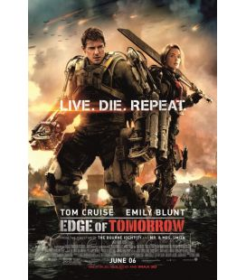 "Edge of tomorrow - 27"" x 40"" - Affiche originale américaine"