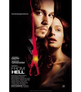 "From Hell - 27"" x 40"" - Affiche originale américaine"