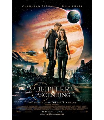 "Jupiter Ascending - 27"" x 40"" - Original US Poster"