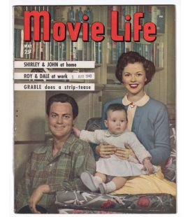 Movie Life - Mai 1949 - Magazine américain avec Shirley Temple