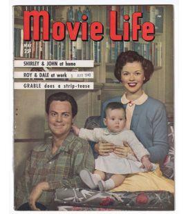Movie Life - Mai 1949 - Ancien magazine américain avec Shirley Temple