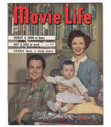 Movie Life Magazine - May 1949 with Shirley Temple