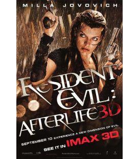 """Resident Evil : Afterlife - 27"""" x 40"""" - Affiche préventive originale américaine"""