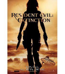 """Resident Evil : Extinction - 27"""" x 40"""" - Affiche préventive originale américaine"""