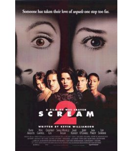 "Scream 2 - 27"" x 40"" - Affiche originale américaine"