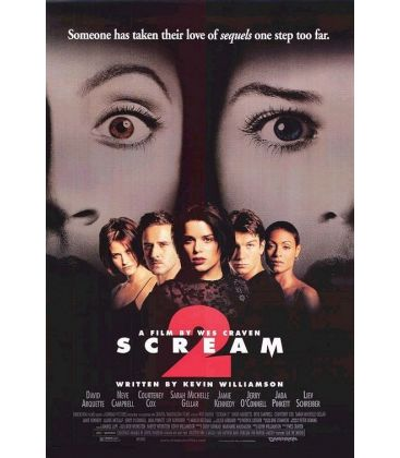 "Scream 2 - 27"" x 40"" - Originale US Movie Poster"