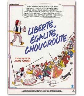 """Liberté, égalité, choucroute - 47"""" x 63"""""""
