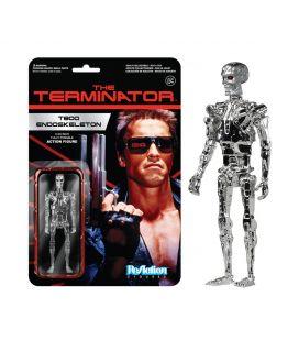 Terminator - T-800 Endoskeleton - Figurine rétro ReAction
