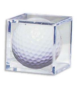 Boite en plastique carré pour balle de golf - Ultra-Pro