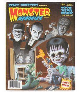Monster Memories N°3 - Janvier 1995 - Magazine américain avec Frankenstein