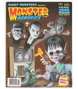Monsters Memories Magazine N°3 - January 1995 - Magazine with Frankenstein
