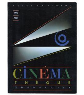 25e anniversaire de la Cinémathèque Québécoise - Livre usagé