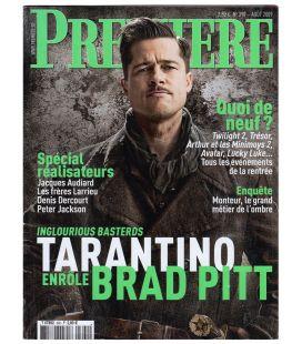 Première N°390 - Août 2009 - Magazine français avec Brad Pitt