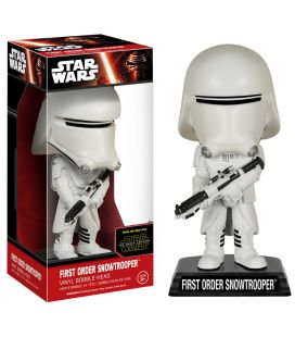 Star Wars : Episode 7 - Le réveil de la force - First Order Snowtrooper - Bobble-Head