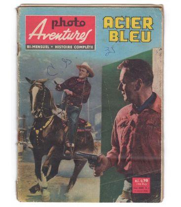 Blue Steel : Photo aventures Magazine N°8 - April 15, 1961 - Vintage french magazine