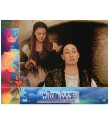 """Ever After: A Cinderella Story - Original Photo 10.5"""" x 8"""" with Anjelica Huston and Brew Barrymore"""