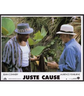 "Juste cause - Photo originale 11,25"" x 9"" avec Sean Conneryet Laurence Fishburne"