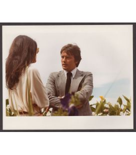 "Carole Laure and Alain Delon - Vintage Original Photo 10"" x 8"" N°2"