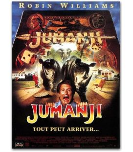 "Jumanji - 47"" x 63"" - Grande Affiche Originale Française"